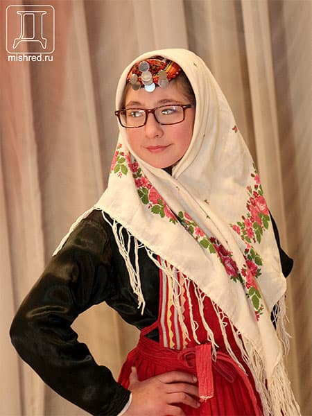 15 марта впервые в Мишкино прошёл конкурс марийских  красавиц «Саскавий-2013» (фото)