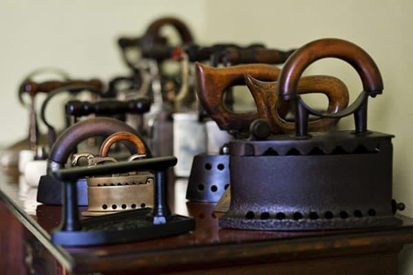 Самая большая в мире коллекция утюгов