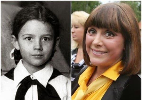 Легендарные советские актрисы в детстве и в возрасте | фото
