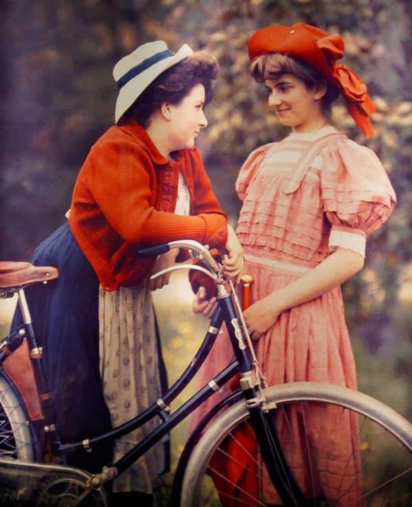 Великолепные цветные фотографии 1909 года