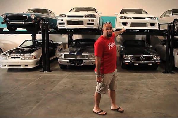 Персональная коллекция автомобилей Пола Уокера