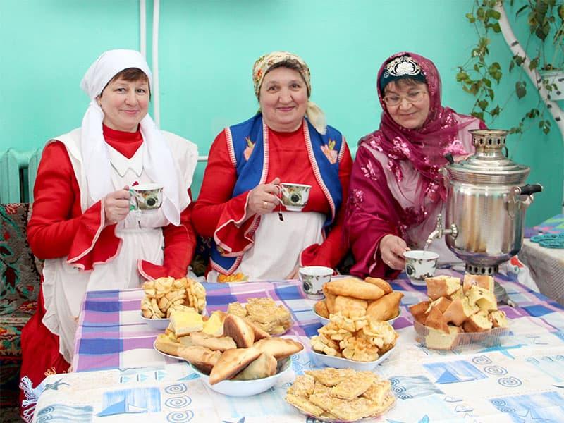 22 марта в Больших Шадах прошел праздник весны навруз