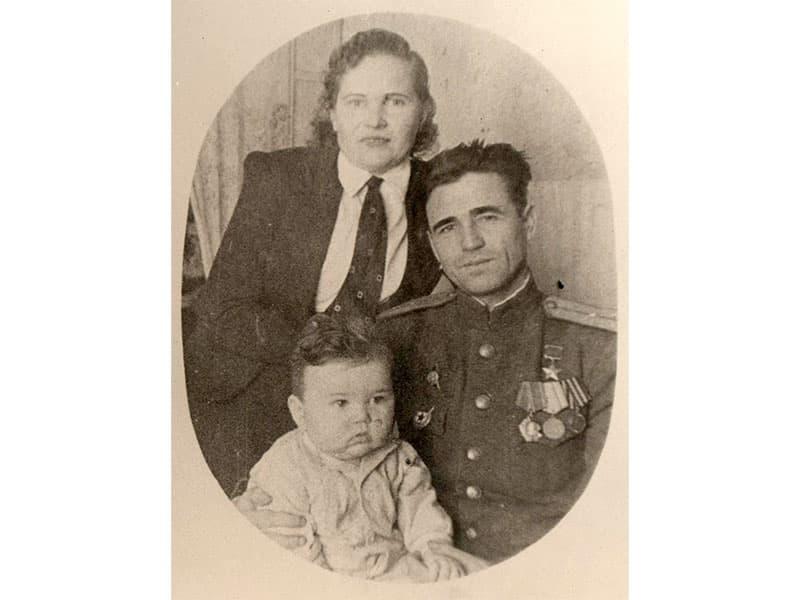 Герой Советского Союза С. А. Казаков