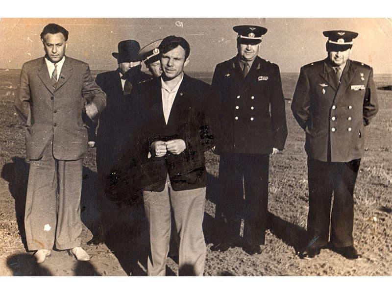 Встреча с Гагариным