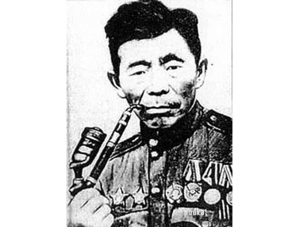 Советский снайпер Семён Данилович Номоконов. Тунгус