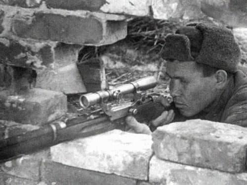Несколько фактов о великом снайпере Василии Зайцеве
