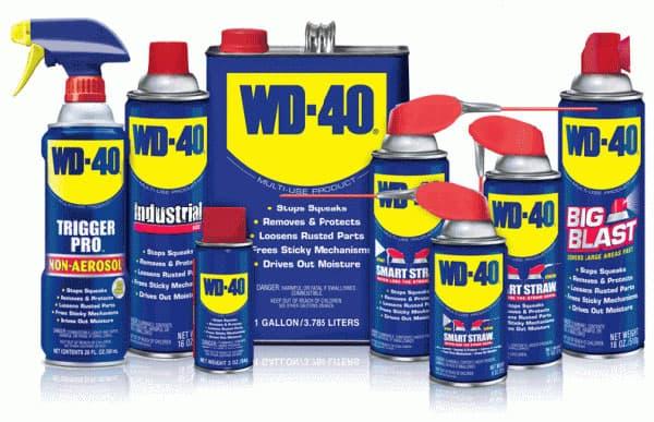 13 необычных способов использования WD-40