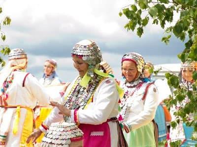 Культура народа мари на примере деревни Камеево Мишкинского района