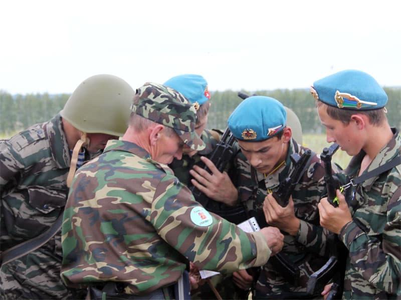 В Мишкинском районе прошла военно-спортивная игра «Зарница» (+24 фото, +1 видео)