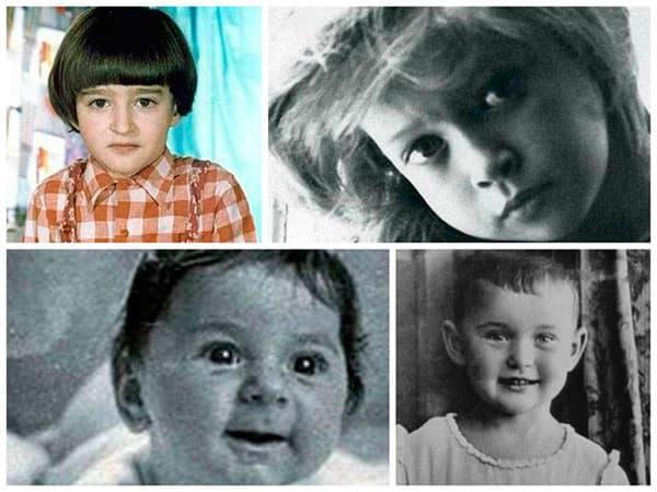 Фото советских и российских знаменитостей в детстве