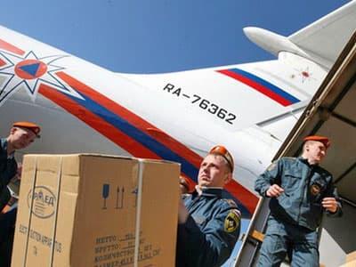 МЧС России отправляет в Ирак гуманитарную помощь