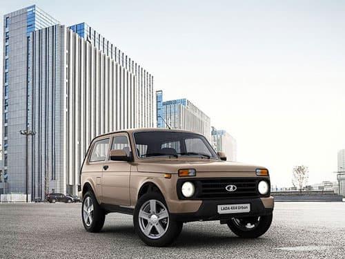 АВТОВАЗ начинает продажу нового внедорожника  LADA 4X4 Urban