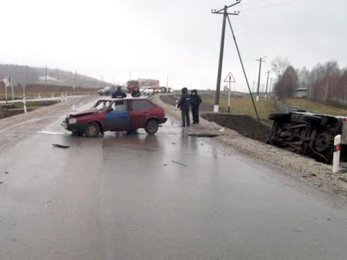 В Гафурийском районе  Башкирии пьяный водитель без прав устроил смертельное ДТП