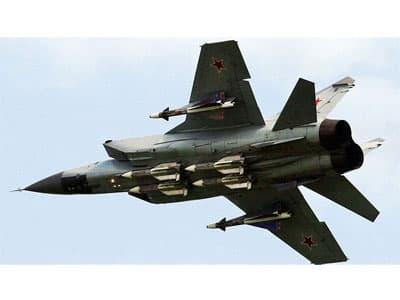 Учебный полет Миг-25 в Алжире завершился катастрофой