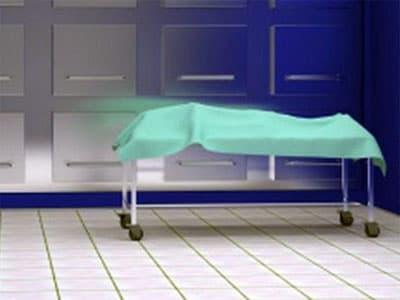 В Польше  старушка восстала из мертвых