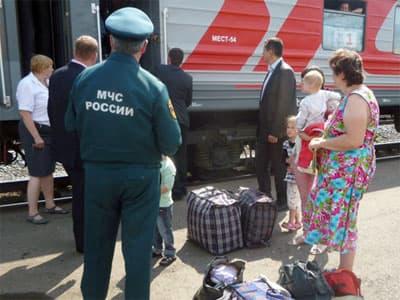 Семья из Луганска поблагодарила  жителей Башкирии за радушный прием