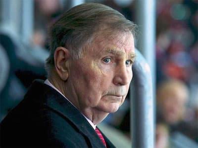 Не стало легендарного хоккейного тренера Виктора Тихонова