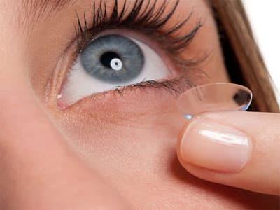 Ношение контактных линз зимой