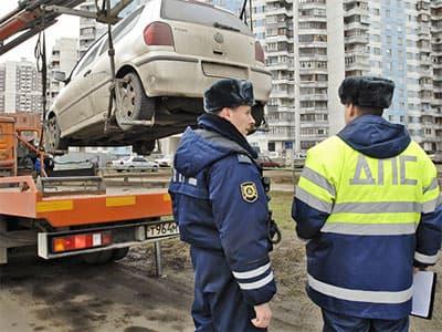 В Башкирии сотрудники ГИБДД должны будут присутствовать на эвакуации автомобиля