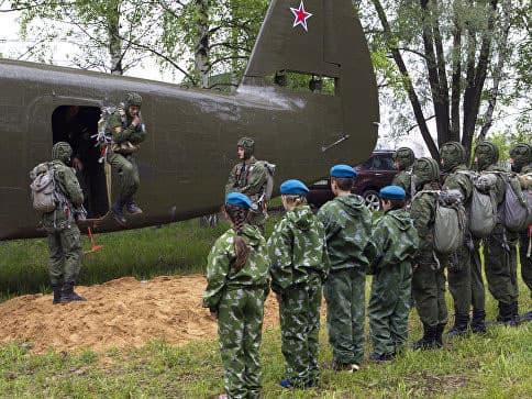 В России создано военно-патриотическое движение