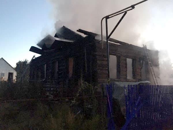 В Бирском районе Башкирии в пожаре погибли 9 человек