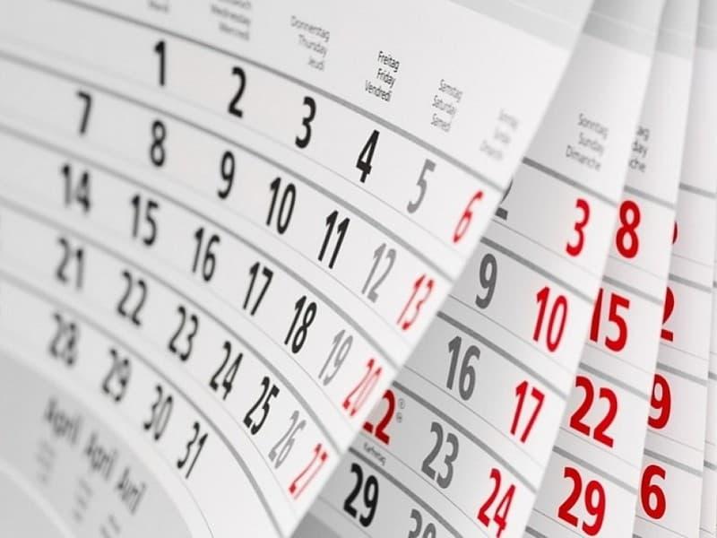 Одобрен график выходных и праздничных дней на 2018 год