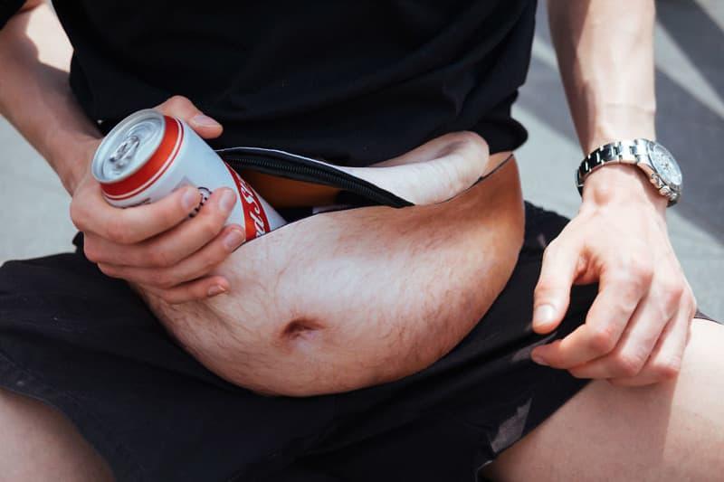 Он придумал съемный пивной животик для парней