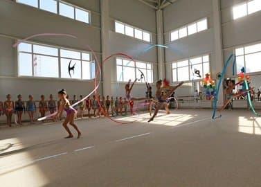 В Уфе открылся центр художественной гимнастики