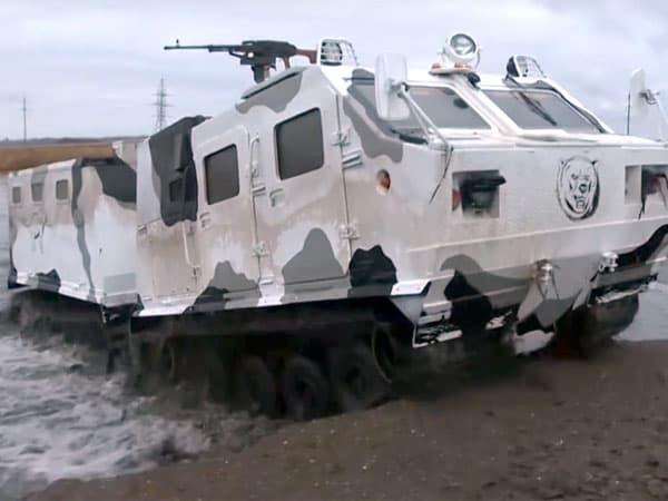 Вездеходы из Башкирии будут использоваться в Арктике