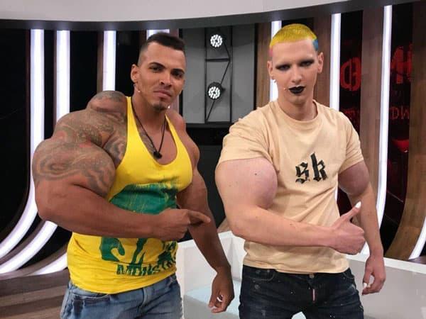 Кирилл Терешин («Руки-базуки») встретился со своим кумиром Ромарио Дос Сантосом