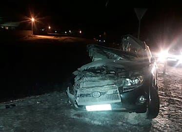 В Мелеузовском районе произошла авария с участием трёх трех автомобилий