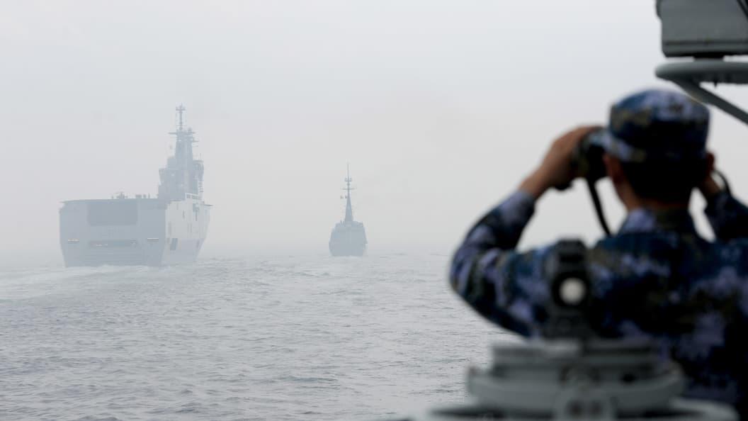 Китайские корабли войдут в состав ВМФ России в случае удара США по Сирии