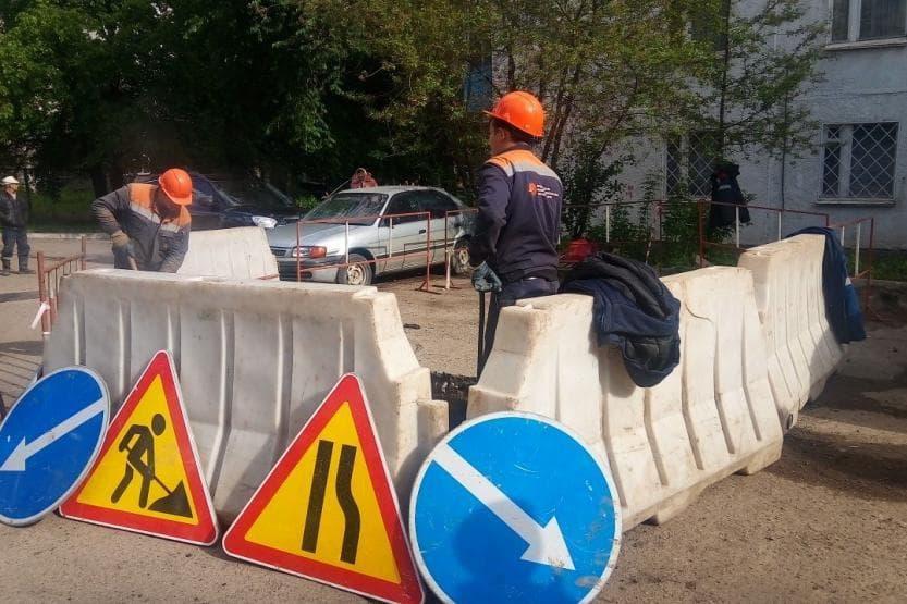 В Уфе из-за коммунальной аварии отключили горячую воду в 9 жилых домах