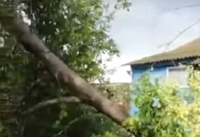 По западу Башкирии прошёл сильный ураган