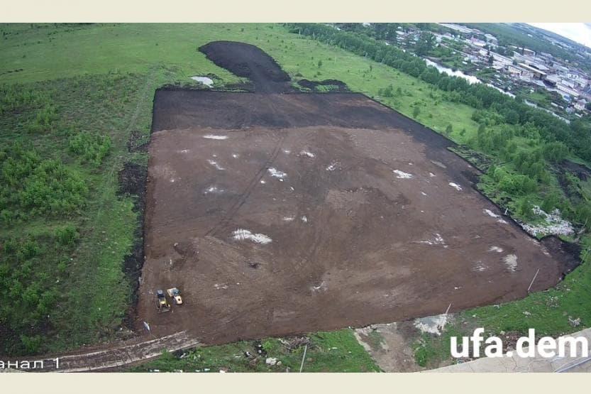 В Уфе в Демском районе началось строительство новой школы