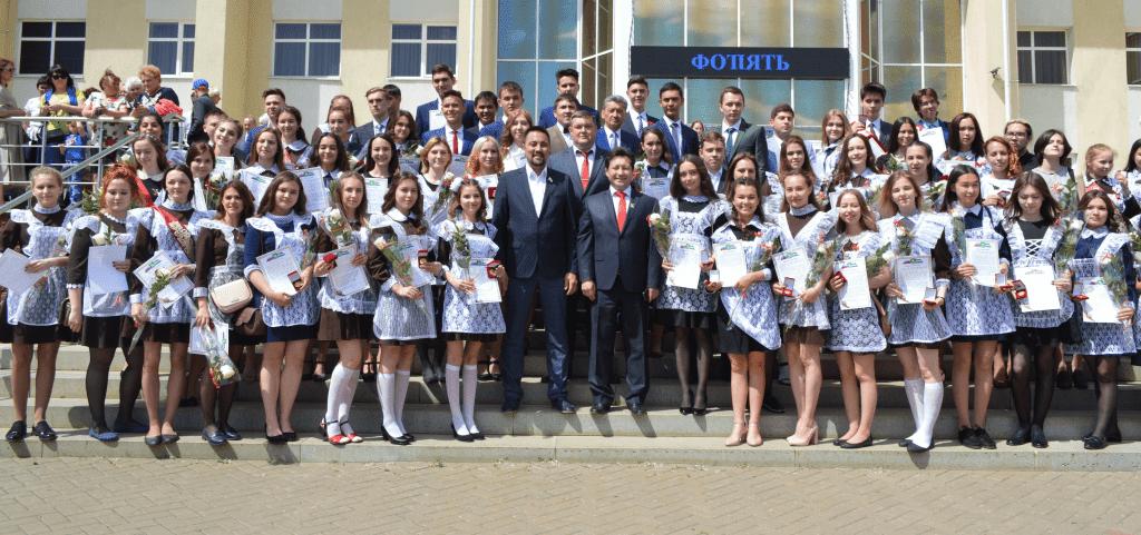 В Мелеузе чествуют лучших выпускников школ