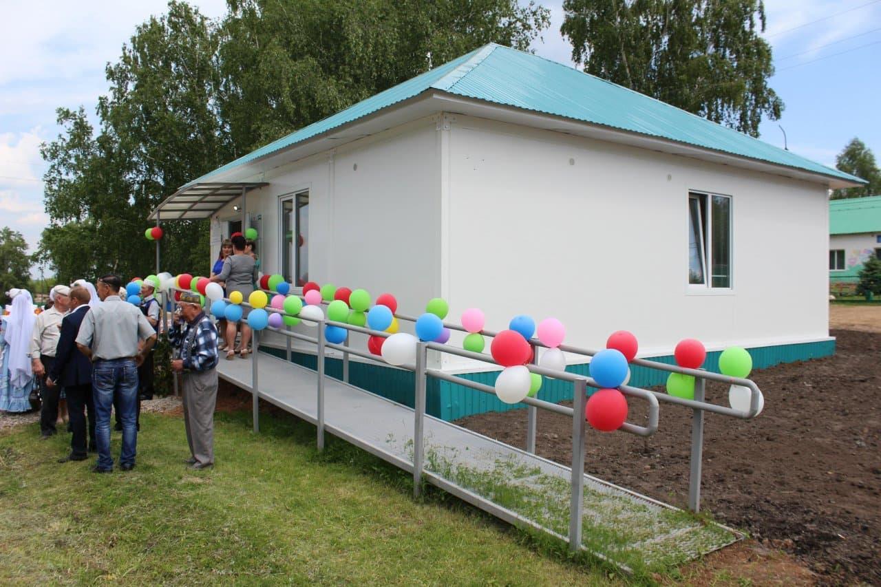 В Шаранском районе открылся новый ФАП