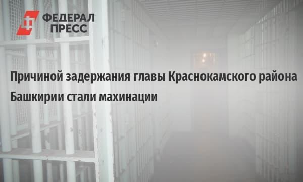 Главу Краснокамского района задержали за махинации с сельхозугодьями