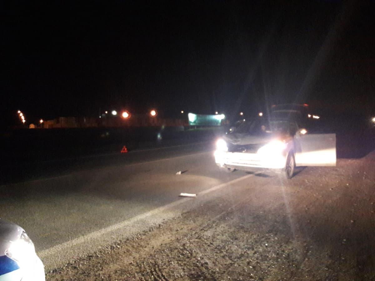 В Белебеевском районе иномарка сбила насмерть мотоциклиста