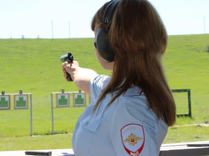 В Сибае прошел первый этап соревнований по стрельбе среди полицейских