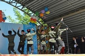 В Октябрьском прошел четвертый межрегиональный фестиваль-конкурс «Распахнись, душа казачья!»
