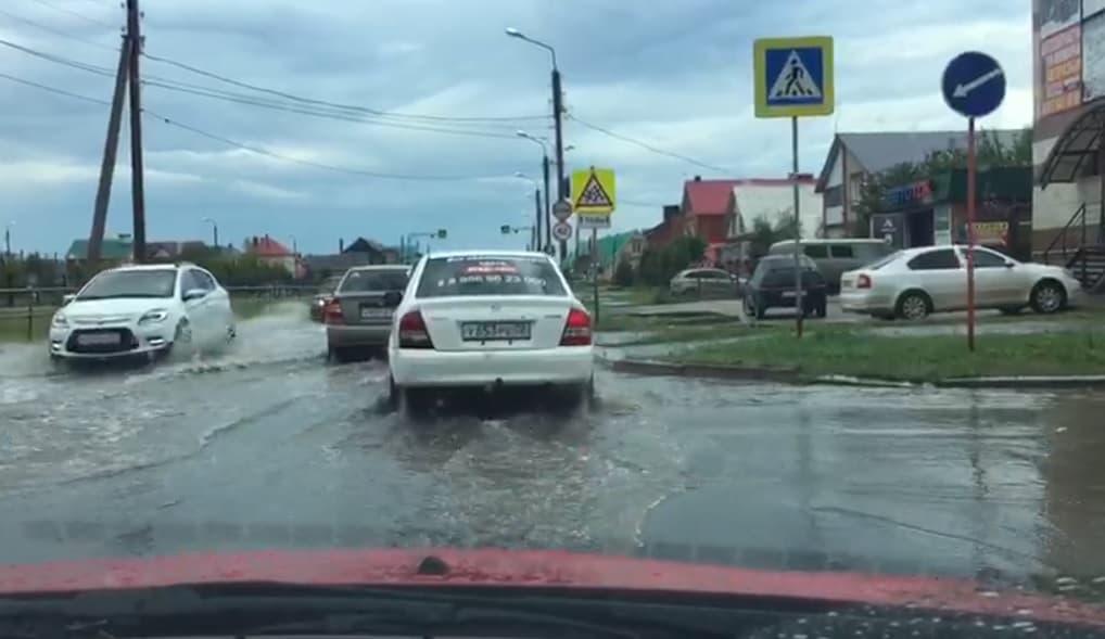 В Башкирии ливень затопил улицы городов и автомобильный тоннель