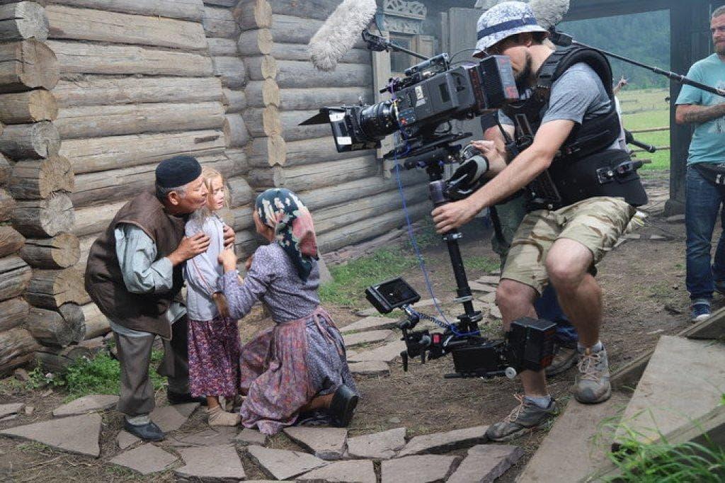 Российский актер Александр Галибин снимает в Башкирии фильм по повести Мустая Карима