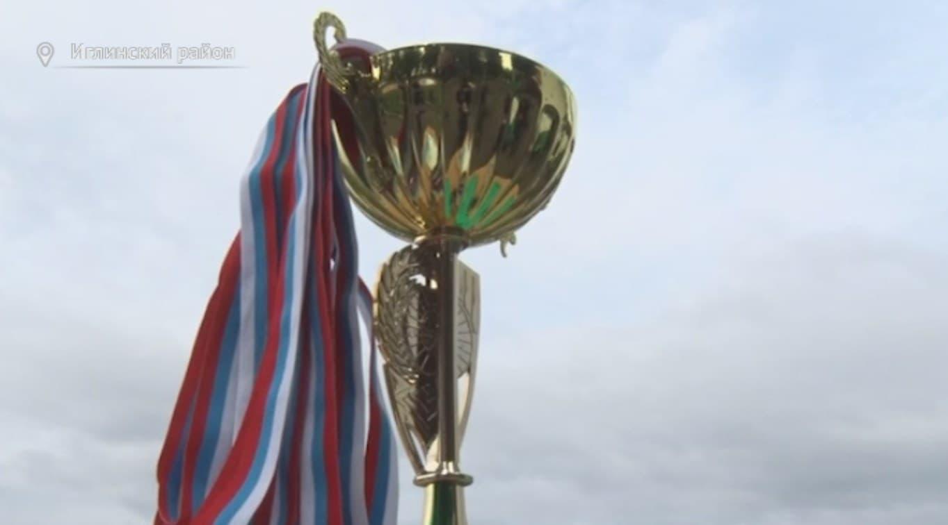 В Иглино прошел итоговый чемпионат района по футболу