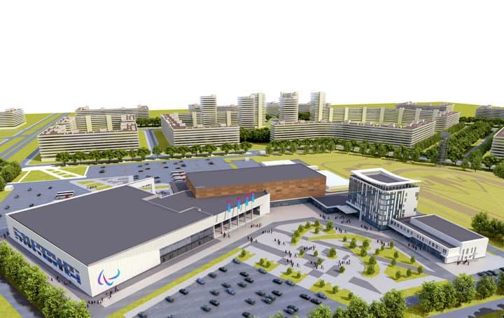 В Уфе полным ходом идет строительство Паралимпийского центра