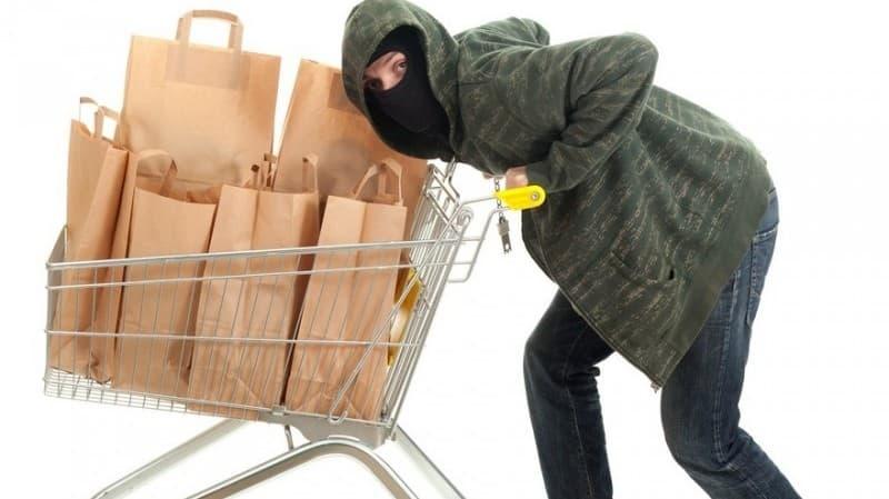 В Янаульском районе два приятеля украли продукты из магазина