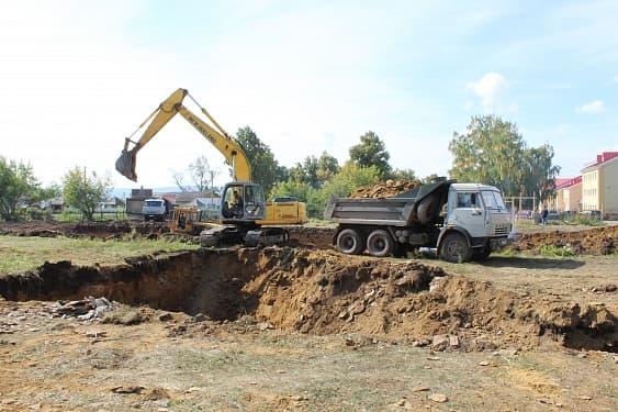 В Дуванском районе строится  новый Дом культуры