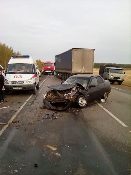 В Дюртюлинском районе по вине лихача погиб водитель