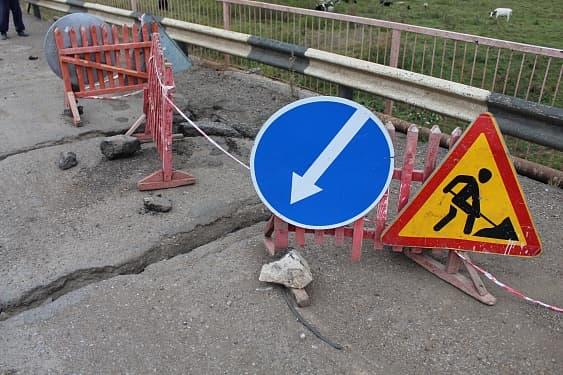 Жители одного из сел в Дуванском районе жалуются на плачевное состояние моста