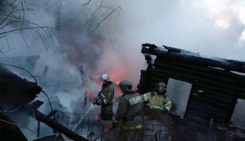 В Туймазах в пожаре едва не погиб мужчина